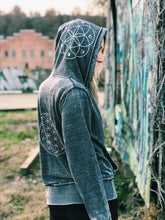 Load image into Gallery viewer, Sacred Geometry Unisex Zip Up