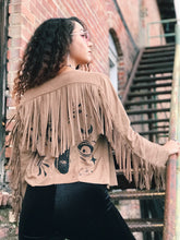 Load image into Gallery viewer, Moon Child Fringe Jacket