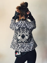 Load image into Gallery viewer, Zebra Print Jacket