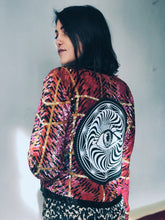 Load image into Gallery viewer, All Seeing Eye Vintage Beaded Jacket - Small/Medium