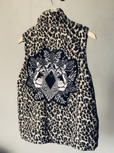 Load image into Gallery viewer, Animal Print Tiger Faux Fur Leopard Vest - Large
