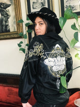 Load image into Gallery viewer, Moth Embroidered Windbreaker - Size Medium