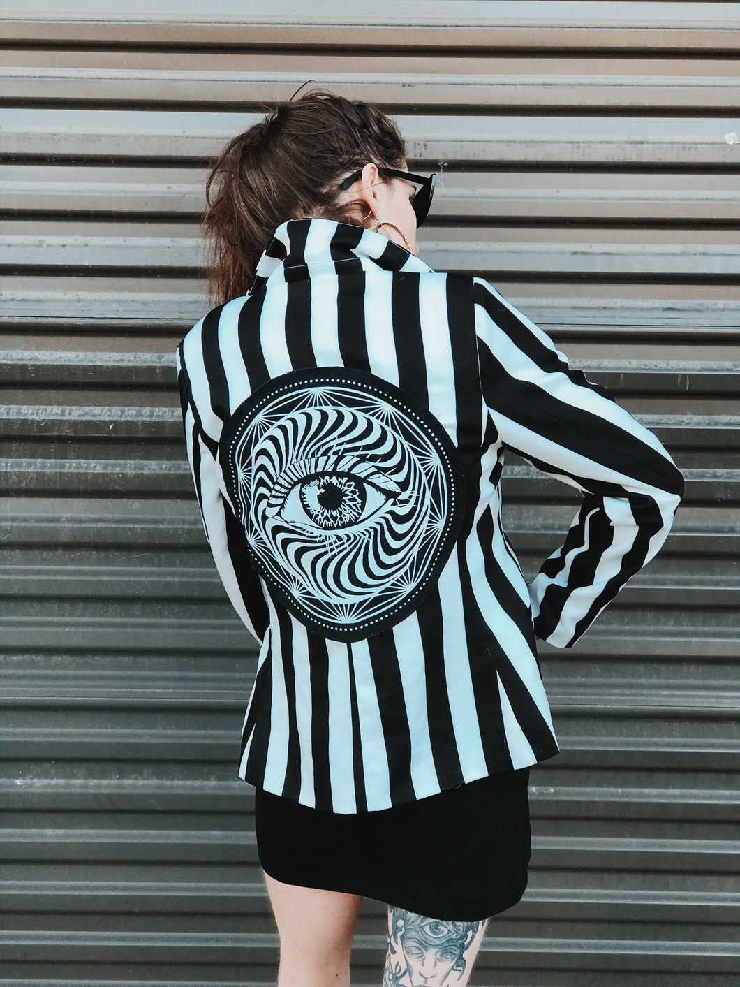 All Seeing Eye Striped Jacket