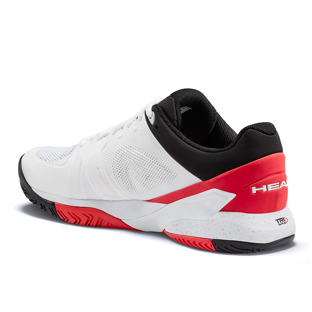 Head Revolt Pro 2.5 White & Red Tennis Shoes