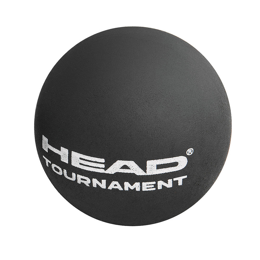 Head Tournament Squash Ball Single Dot-Yellow