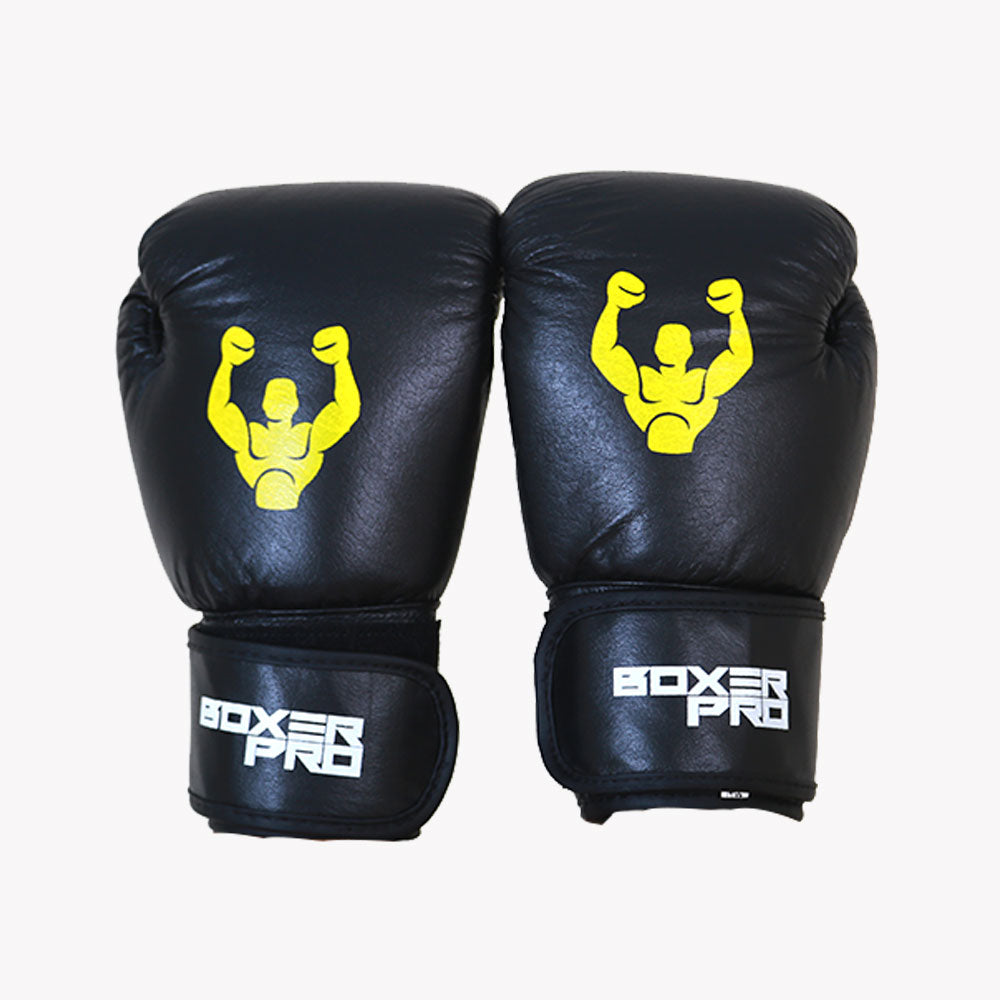 BoxerPro Training Boxing Gloves - Leather 8oz