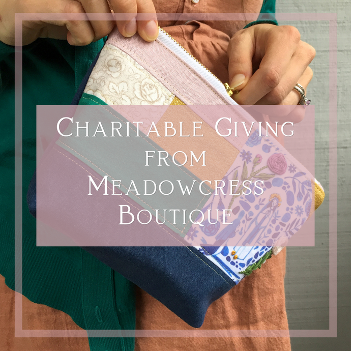 Starting Something New: Charitable Giving from Meadowcress Boutique