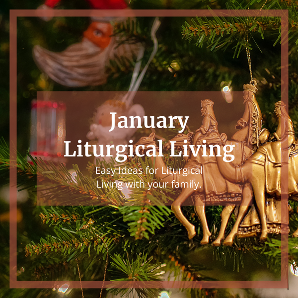 Easy January Liturgical Living Ideas!