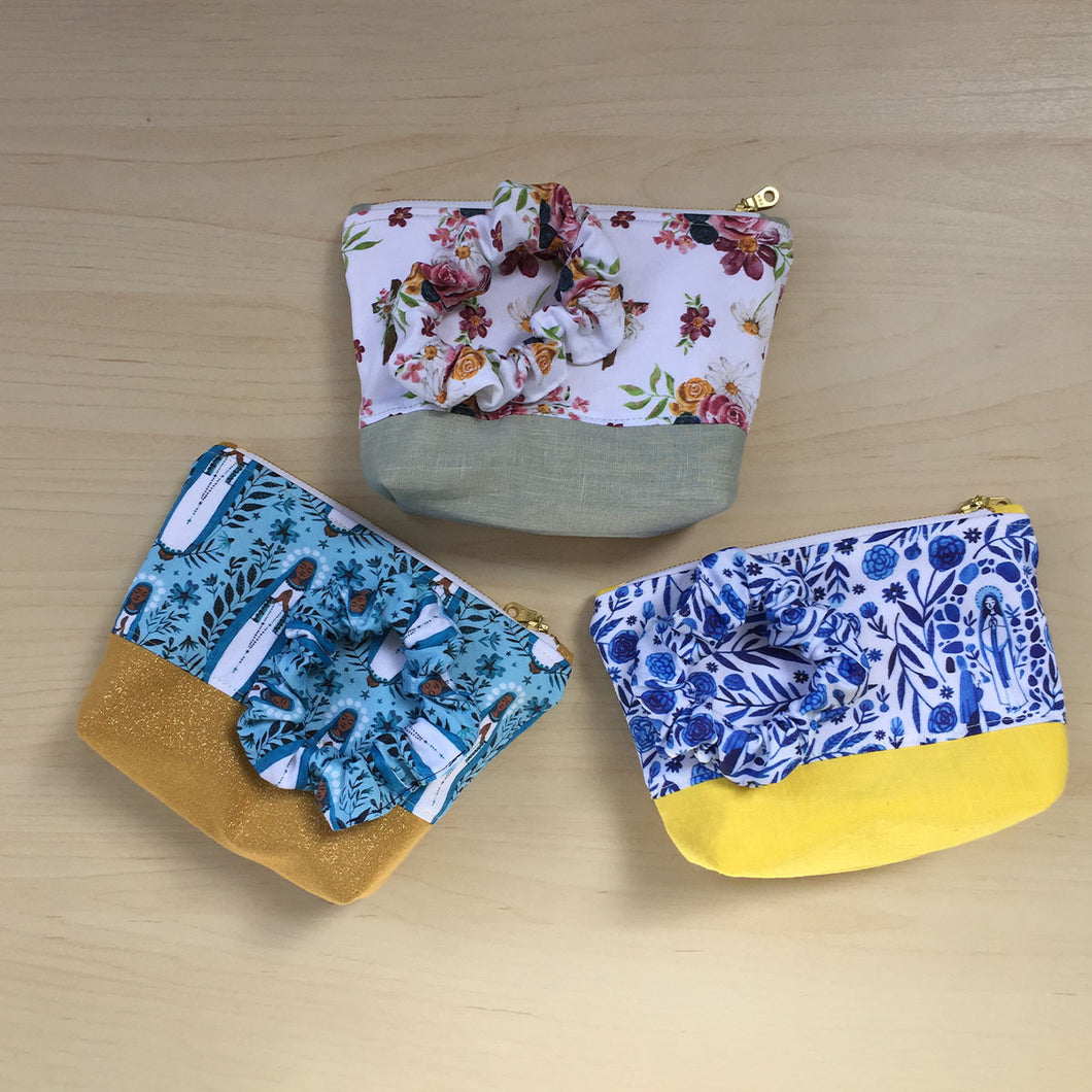 Pouch and Scrunchie Bundle