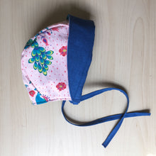 Load image into Gallery viewer, Flannery O'Connor Organic Cotton Baby Bonnet