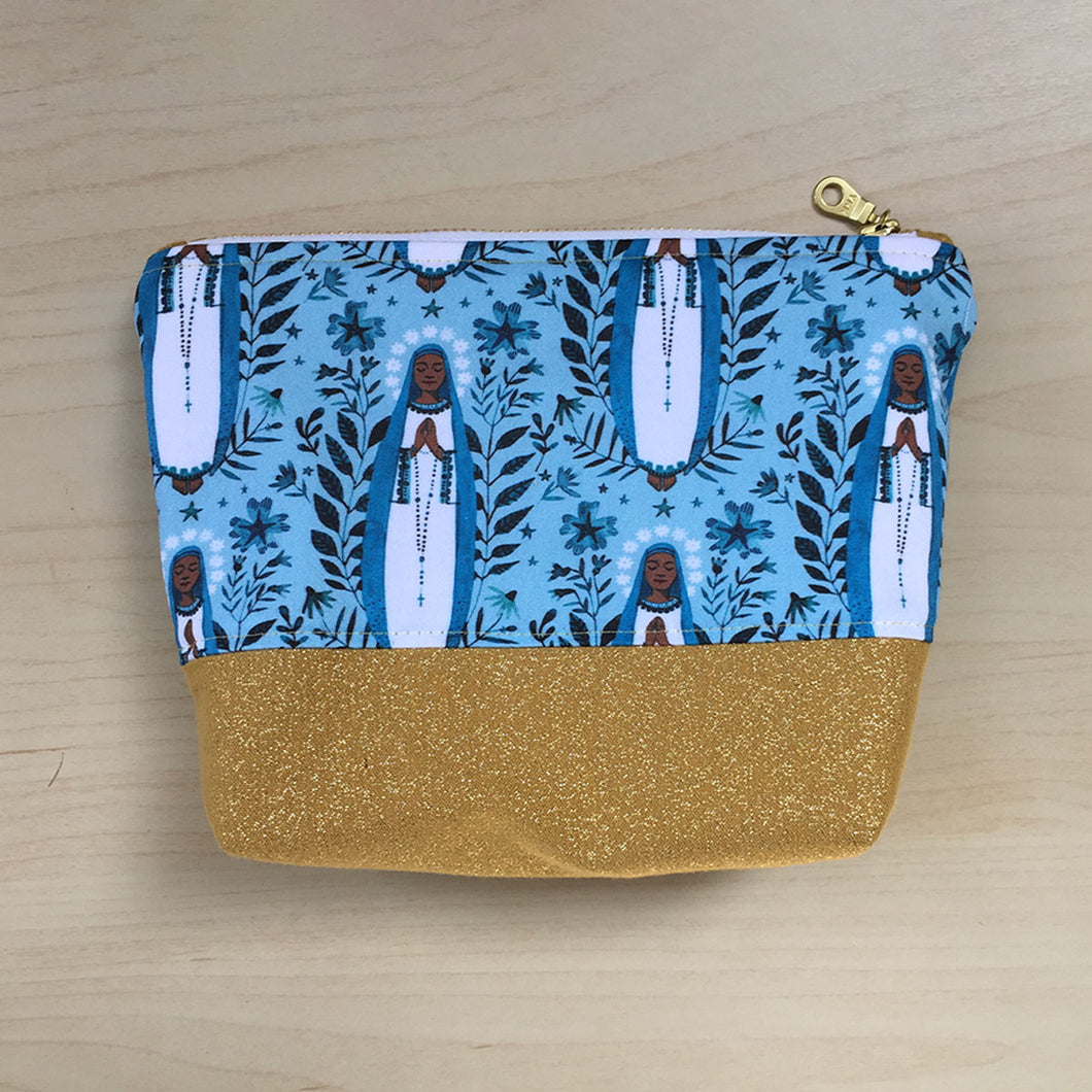 Our Lady of Kibeho Zipper Pouch