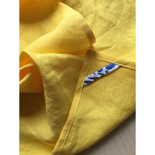 Load image into Gallery viewer, Our Lady of Lourdes Tea Towel - Yellow