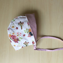 Load image into Gallery viewer, Saint Therese Organic Cotton Baby Bonnet