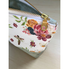 Load image into Gallery viewer, Saint Therese Zipper Pouch - Sage