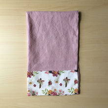 Load image into Gallery viewer, Saint Therese Tea Towel - Dusty Rose