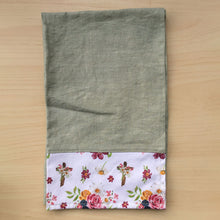 Load image into Gallery viewer, Saint Therese Tea Towel - Sage