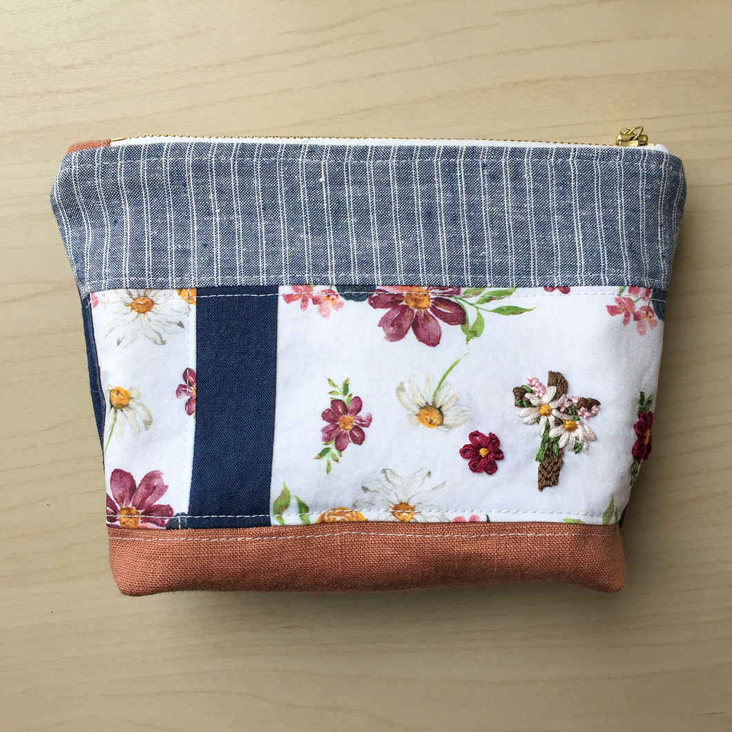 Quilted Zipper Pouch - 5