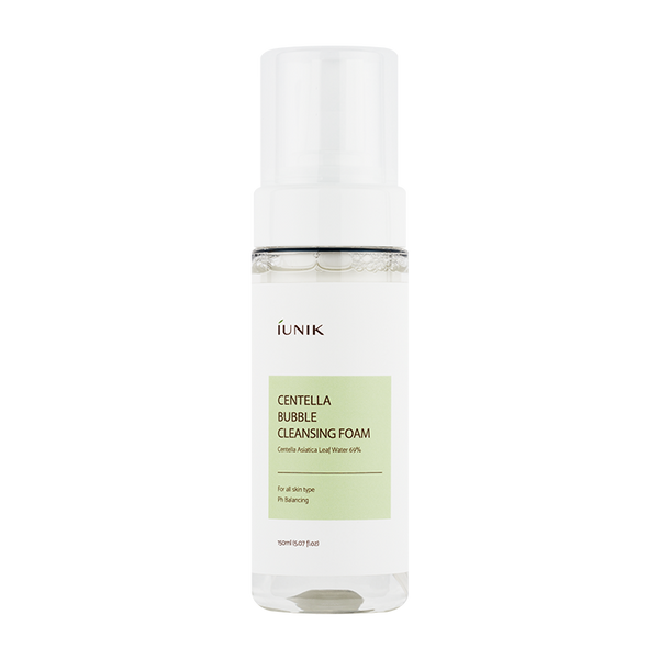 Αφρός Καθαρισμού - Iunik Centella Bubble Cleansing Foam 150ml