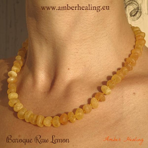 Adult Necklace Baroque Raw