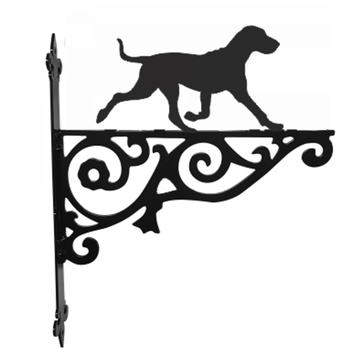 Bracco Italiano Ornamental Metal Hanging Bracket - Attractive Metal Designs