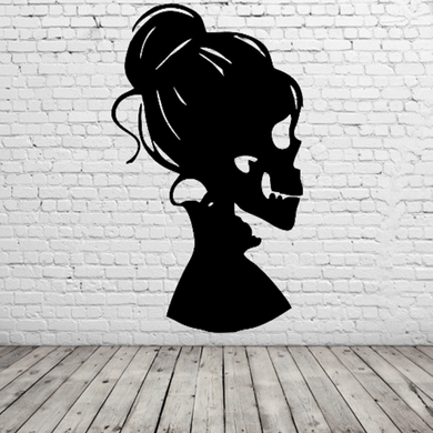 Female Skull Wall Art - Attractive Metal Designs