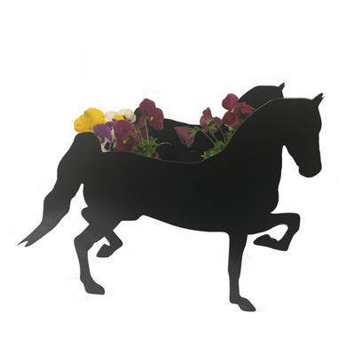 Horse Hackney Horse Garden Planter - Attractive Metal Designs