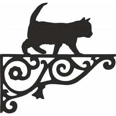 Kitten Ornamental Metal Hanging Bracket - Attractive Metal Designs