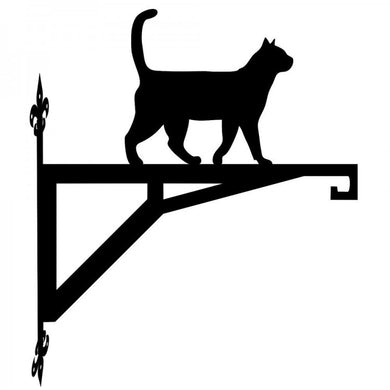 Cat Standing Modern Metal Hanging Bracket - Attractive Metal Designs