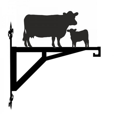 Cow and Calf  Metal Hanging Bracket - Attractive Metal Designs