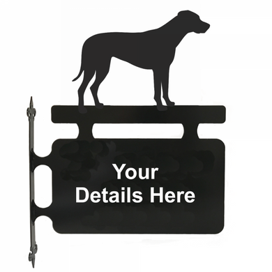 Rhodesian Ridgeback Hanging Sign - Attractive Metal Designs