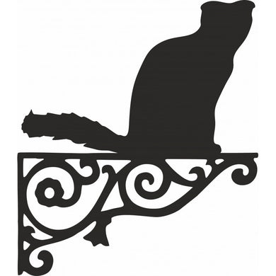 Scottish Fold Ornamental Metal Hanging Bracket - Attractive Metal Designs