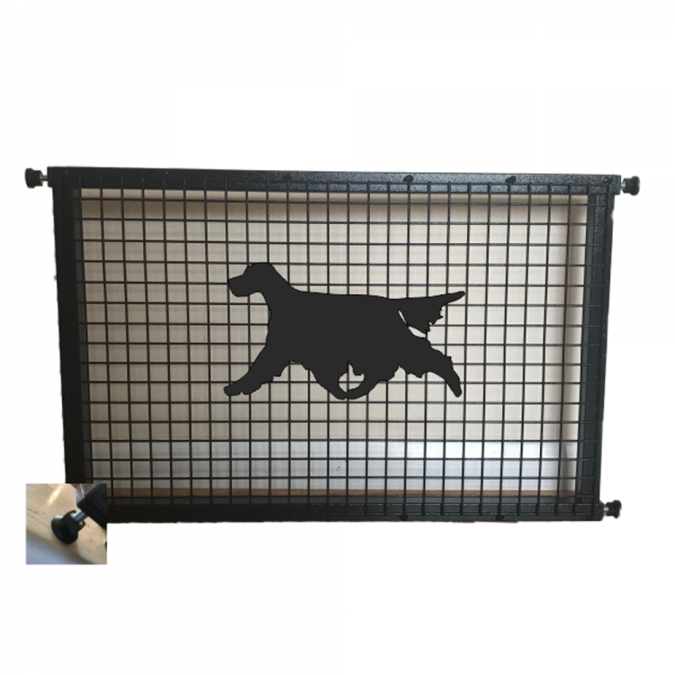 Setter Puppy Guard - Attractive Metal Designs