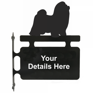 Shih-Tzu Hanging Sign - Attractive Metal Designs
