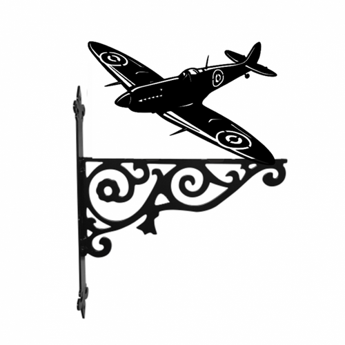 Spitfire Ornamental Metal Hanging Bracket - Attractive Metal Designs