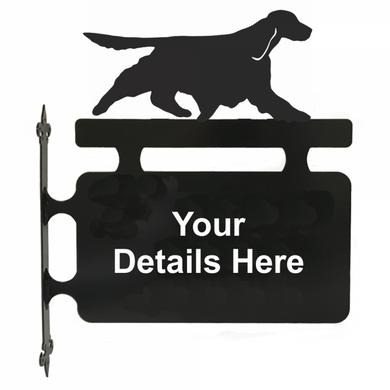 Springer Spaniel Hanging Sign - Attractive Metal Designs
