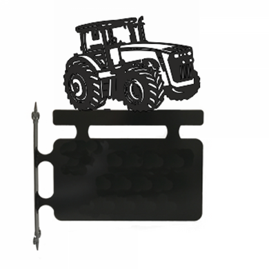Tractor Hanging Sign - Attractive Metal Designs