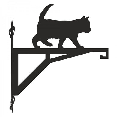 Kitten Walking Modern Metal Hanging Bracket - Attractive Metal Designs