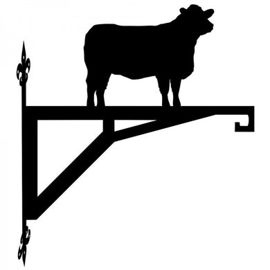 Lincoln Red Cow  Hanging Bracket - Attractive Metal Designs