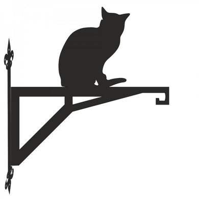 Russian Blue Cat  Modern Metal Hanging Bracket - Attractive Metal Designs