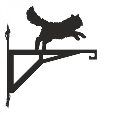 Persian Cat  Modern Metal Hanging Bracket - Attractive Metal Designs