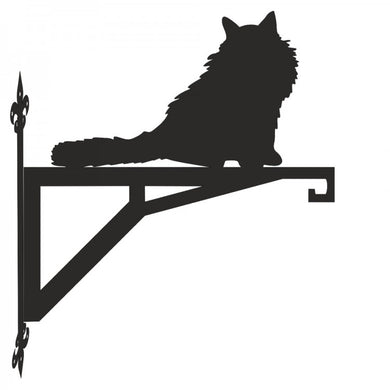Ragdoll Cat Modern Metal Hanging Bracket - Attractive Metal Designs