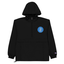 Load image into Gallery viewer, Blue Logo Champion Pullover