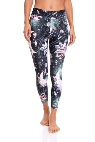 Pattern Legging - Crystal Night Magic