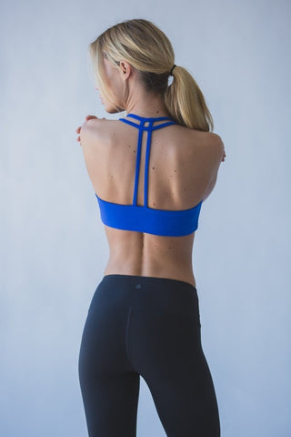 Teardrop Bra - Royal Blue