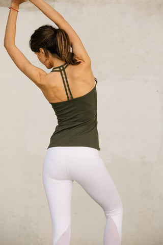 Teardrop Cami - Army Green