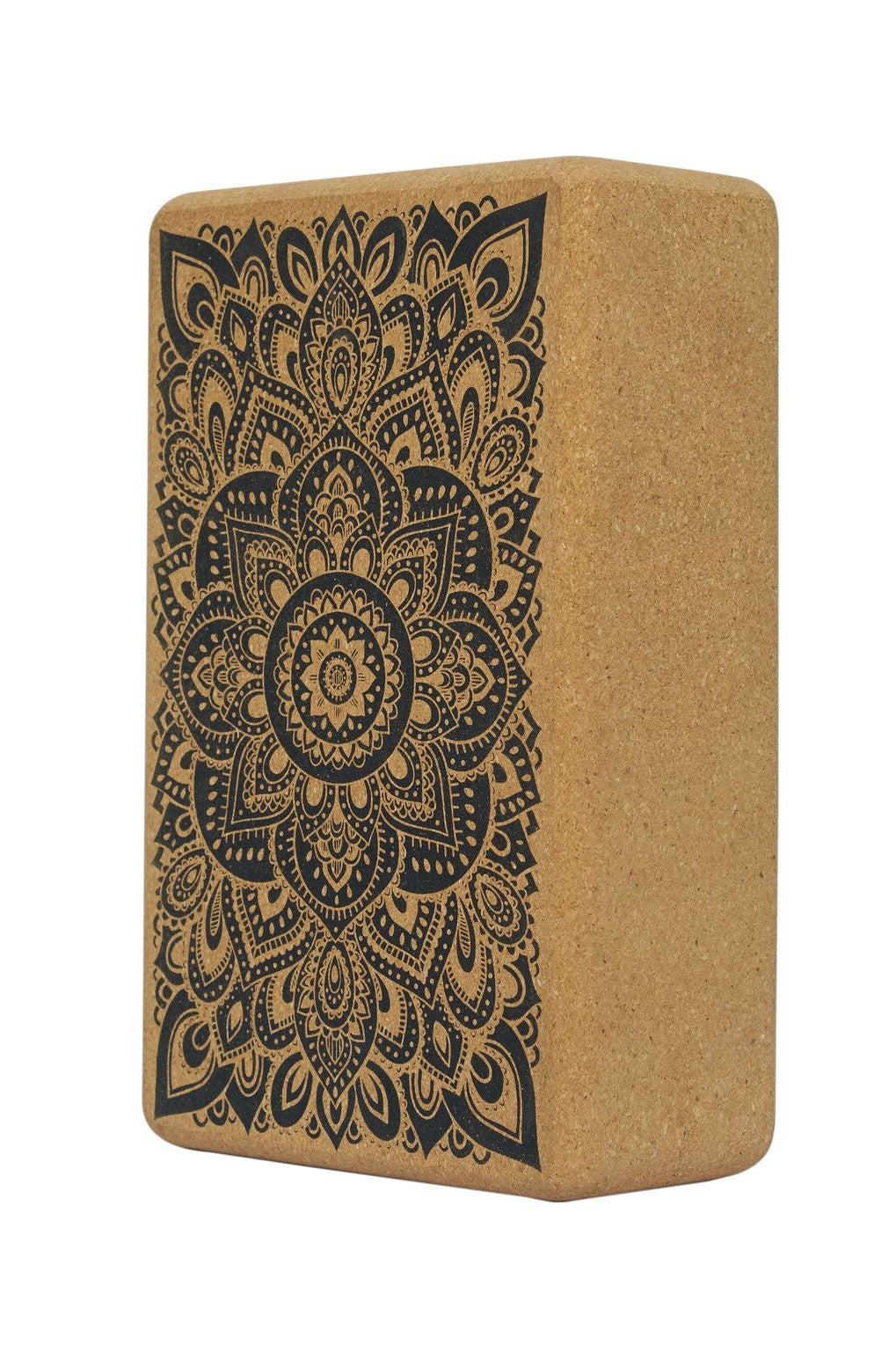 Mandala Black - Cork Block - EMAIL US TO RESERVE YOURS FROM OUR RESTOCKS