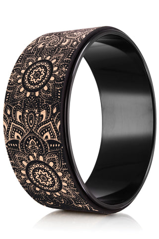 Mandala Black CORK WHEEL