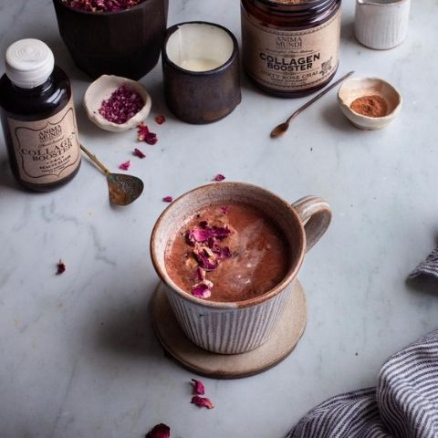 Dirty Rose Chai Collagen Booster