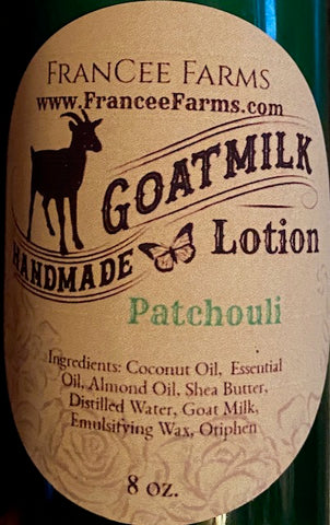 Patchouli Lotion