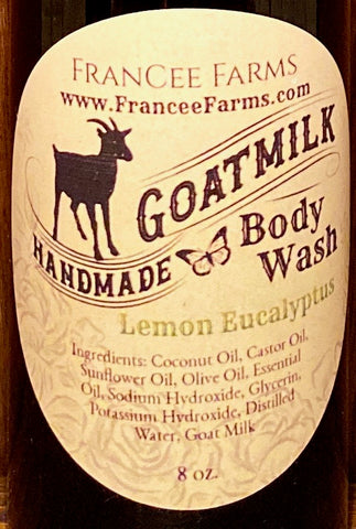 Lemon Eucalyptus Body Wash